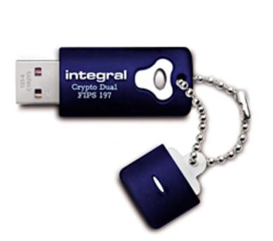 Integral Crypto Dual Flash Drive USB 2.0 16GB