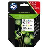HP 950XL 951XL Ink Cartridges Combo Pack