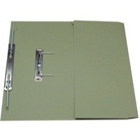 Guildhall Super Heavy Weight 420gsm Pocket Spiral File Foolscap Green