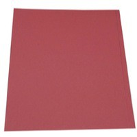 Guildhall Square Cut Folders Manilla 315gsm Foolscap Red