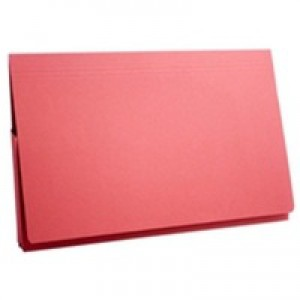 Guildhall Document Wallet Full Flap 315gsm Capacity 35mm Foolscap Red Code PW2-RED