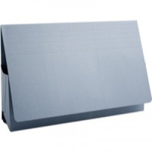 Guildhall Probate Wallets Recycled Manilla 315gsm 75mm Foolscap Blue