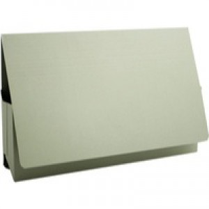 Guildhall Probate Wallets Recycled Manilla 315gsm 75mm Foolscap Green