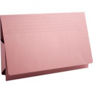 Guildhall Probate Wallets Recycled Manilla 315gsm 75mm Foolscap Pink