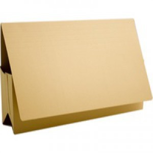 Guildhall Probate Wallets Recycled Manilla 315gsm 75mm Foolscap Yellow