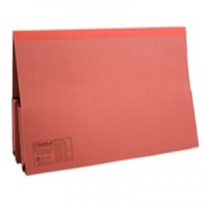 Guildhall Legal Wallet Double Pocket Manilla 315gsm Foolscap Red