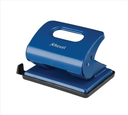 Rexel V220 Blu Metal Punch 20sht 2100762