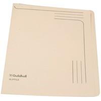 Guildhall Slipfile Open 2 Side Manilla File 12.5x9in Cream Code 4609