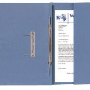 Guildhall Transfer Spiral Pocket File Right Hand Blue