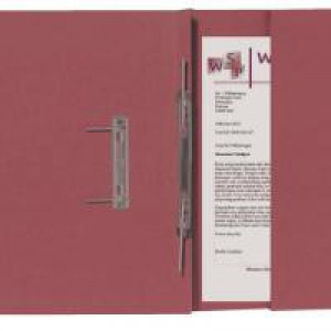Guildhall Transfer Spiral Pocket File Right Hand Red