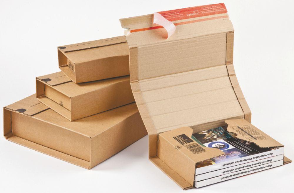 Jiffy Box 64 CP020.14 ID 330x270x80mm Ext 388x280x100mm 20/Pk FSC3