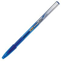 Bic Cristal V2 Rollerball Pen Gel Ink 0.7mm Tip 0.5mm Line Blue Ref 8438852 [Pack 20]