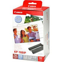 Canon CP Series Ink And Paper 10x15cm 4x6 inches P108 Code KP-108IN