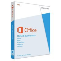 Microsoft Office Home and Business 2013 English Medialess Code T5D-01574