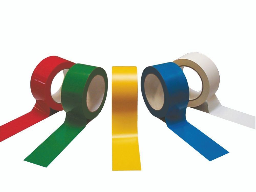 Polypropylene Tape Yellow Acrylic 48mm x 66m 36/Box
