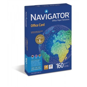 Navigator Office Premium Card High Quality 160gsm A4 Bright White Code PCO160F1