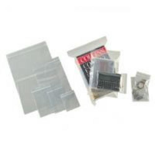 Grip Seal Polythene Bags Medium Weight Plain Ref G17 15x20mm 180 Gauge Pack 1000