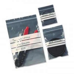 Grip Seal Bag GA123 90 x 115mm Write on Panel (3.5x4.5in) 160g 1000/Box