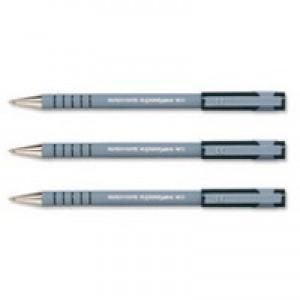 PaperMate Flexgrip Ultra Ball Point Pen Medium 1.0mm Tip 0.7mm Line Black Code PS0190113
