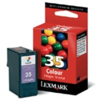 Lexmark Inkjet Cartridge High Yield Page Life 450pp Colour Ref 18C0035E