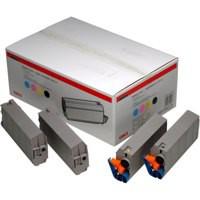 Oki C71/3/500 Toner Rainbow Pk4 01101001