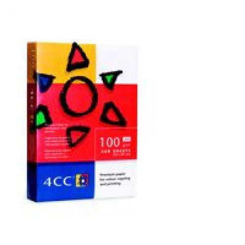 4CC Smooth Uncoated White FSC4 A4210x297mm 160Gm2 Pack 250