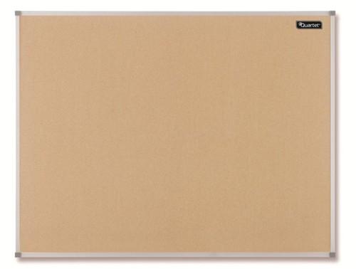 Quartet Cork Board Aluminium Frame 900x600mm
