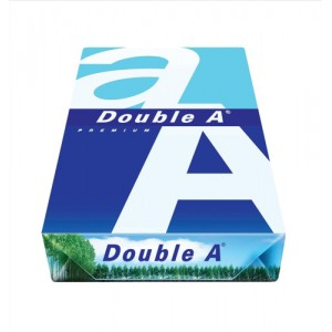 Double A Premium Copier Paper Multifunctional Ream-Wrap 80gsm A4 White Ref 218140800612752 [500 Sheets]