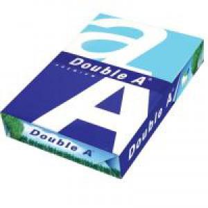 Double A Premium Copier Paper Multifunctional Ream-Wrap 80gsm A3 White Ref 218140800621702 [500 Sheets]