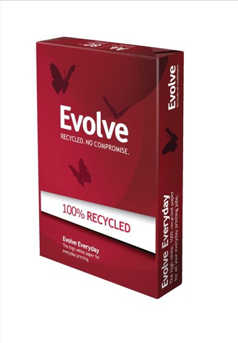 Evolution Everyday Recycled Paper A4 80gsm 500 Sheets White