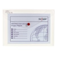 Snopake Polyfile Classic Wallet File Polypropylene A5 Clear Code 11382