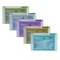 Snopake Polyfile Classic Wallet File Polypropylene Foolscap Assorted Pack 5 Code 10087X