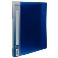 Snopake Electra Ring Binder Polypropylene 2 O-Ring 15mm Size A4 Blue Code 10120