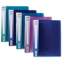 Snopake Electra Display Books 24 Pockets A4 Assorted Pack 10