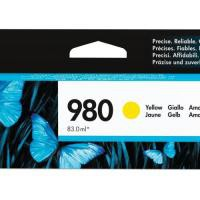 HP 980 Officejet X555/X585 Yellow Ink Cartridge 6.6k D8J09A