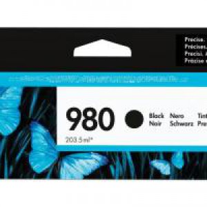 HP 980 Officejet X555/X585 Black Ink Cartridge 10k D8J10A