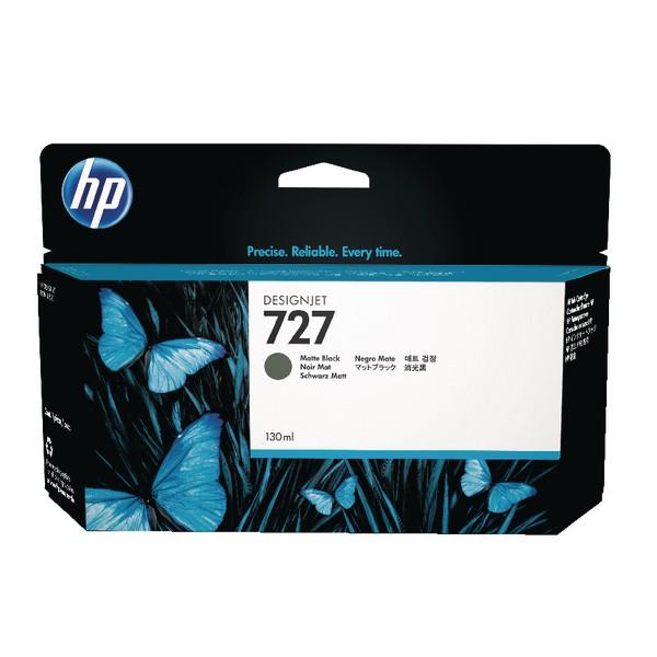 HP 727 130ml Inkjet Cartridge Matte Black Code B3P22A