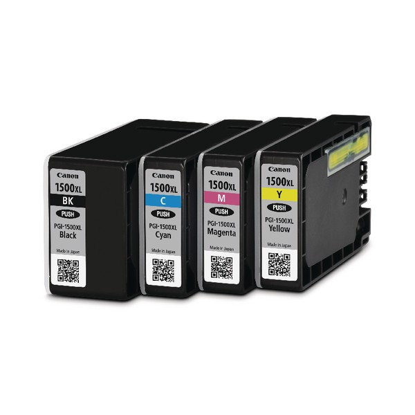 Canon PGI-1500XL Inkjet Cartridge Multipack Pack 4