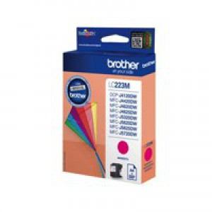 Brother LC223M Inkjet Cartridge Magenta