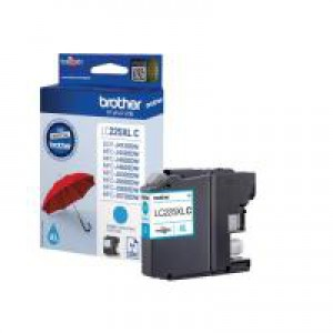 Brother LC225XLC Inkjet Cartridge High Yield Cyan