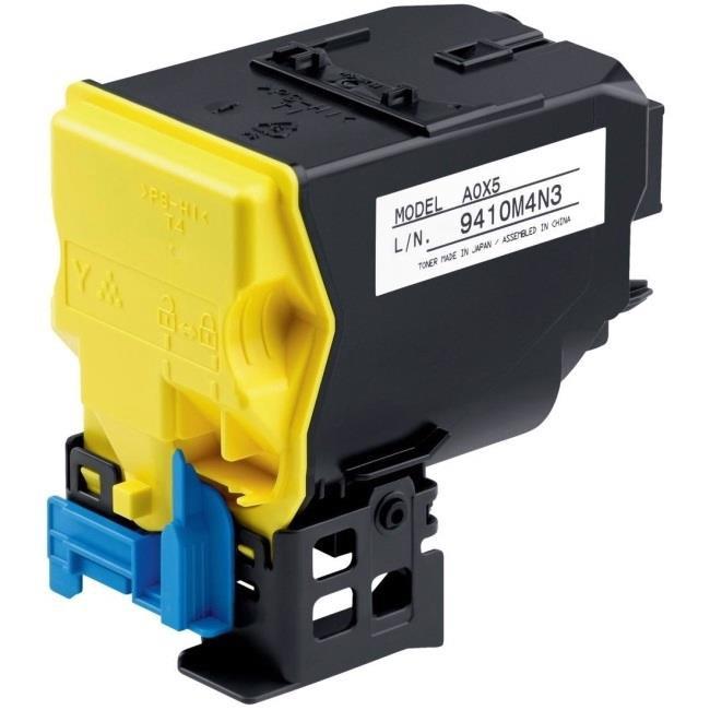 Minolta TNP22Y Yellow Toner Code A0X5252