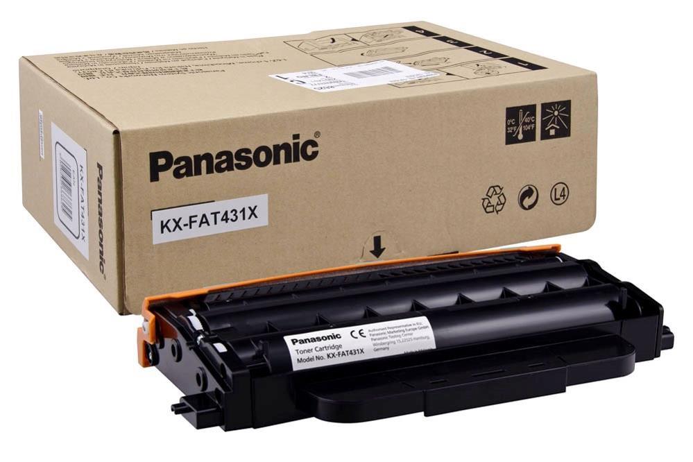 Panasonic KX-FAT431X 6K Toner Cartridge Black