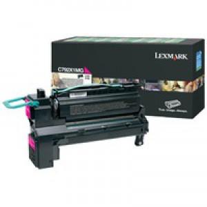 Lexmark C792X1MG Magenta Toner Extra HY