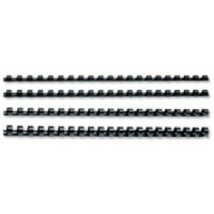 Q-Connect 16mm Black Binding Comb Pk50