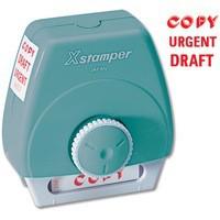 Artline X-Stamper 3-in-1 Word Stamp Copy/Urgent/Draft WS8507