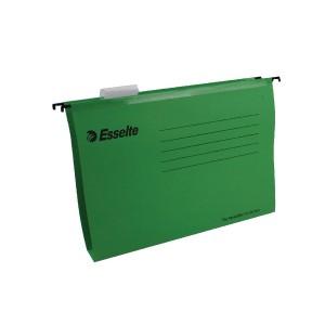 Esselte Pendaflex Plus Suspension File V Base A4 Green Pack 25 Code 90374