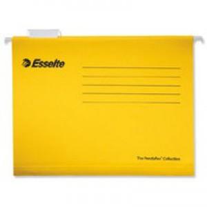 Esselte Pendaflex Economy Suspension File A4 Yellow Pack of 25 90314