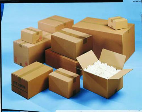 Corrugated Box Single Wall 125KTB 152x152x152mm Glued Pack 25