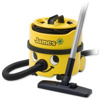 Numatic James Vacuum Cleaner 500-800W 8 Litre 5.2Kg Yellow Ref JVP180A