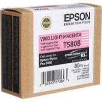 Epson T580B00 Light Magenta Cartridge